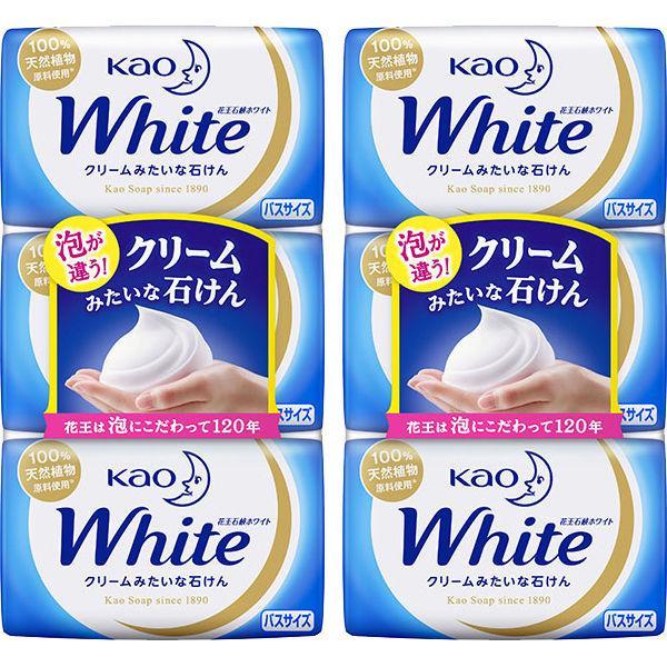 花王ホワイト バスサイズ ホワイトフローラル 130g 花王 ボディーソープ 全店販売中 上等 1セット 3個入×2パック