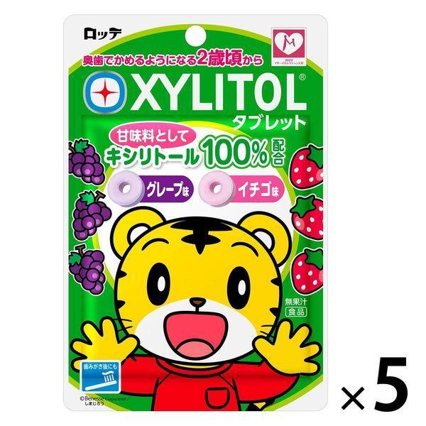 ロッテ キシリトールタブレット 1セット 公式 5袋入 ☆送料無料☆ 当日発送可能