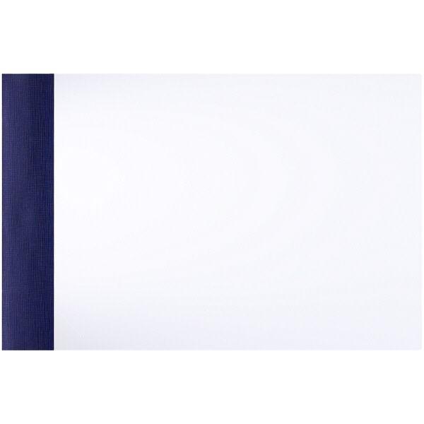 アスクル 製本ファイル A4ヨコ ネイビー 10冊 メーカー公式ショップ セットアップ 紺