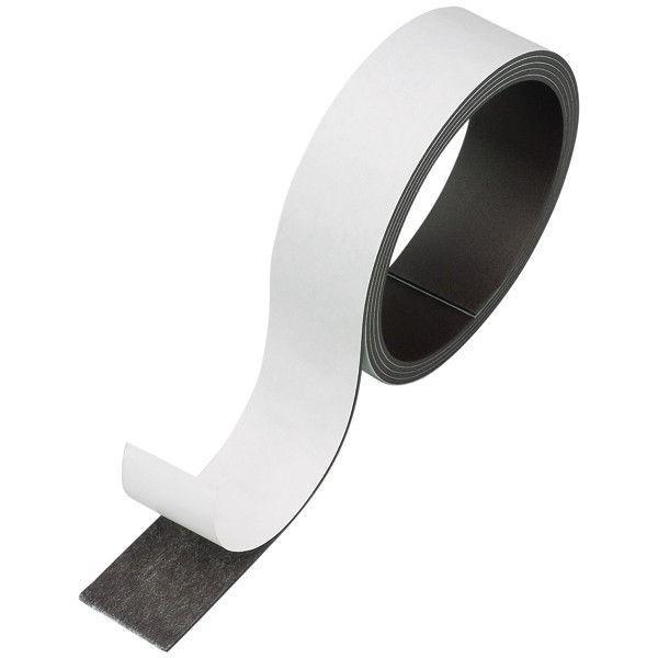 マグエックス マグネット粘着付テープ幅20mm 爆買いセール 1巻 MST-1M-20 限定特価