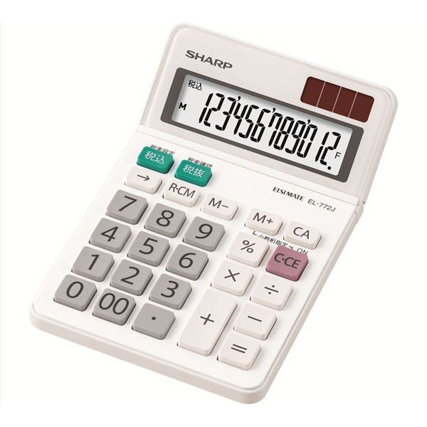 シャープ ミニナイスサイズ EL-772JX 電卓 おすすめ特集 オンラインショッピング