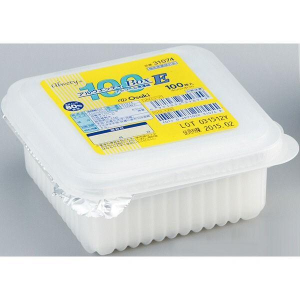 オオサキメディカル アルウェッティBox-E 00031074 新作からSALEアイテム等お得な商品 満載 100枚入 限定モデル