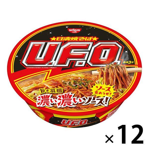 公式ストア 日清食品 日清焼そばU.F.O. 1セット 12食入 安売り