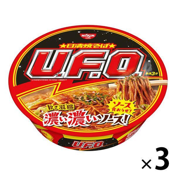 日清食品 本物 保証 日清焼そばU.F.O. 1セット 3食入