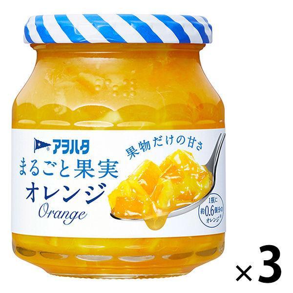 爆売り アヲハタ プレゼント まるごと果実 オレンジ 1セット 250g 3個