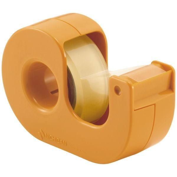 ニチバン 最安値 セロテープ 小巻カッターつき まっすぐ切れるタイプ 新作多数 CT-15DCY イエロー 15mm×9m