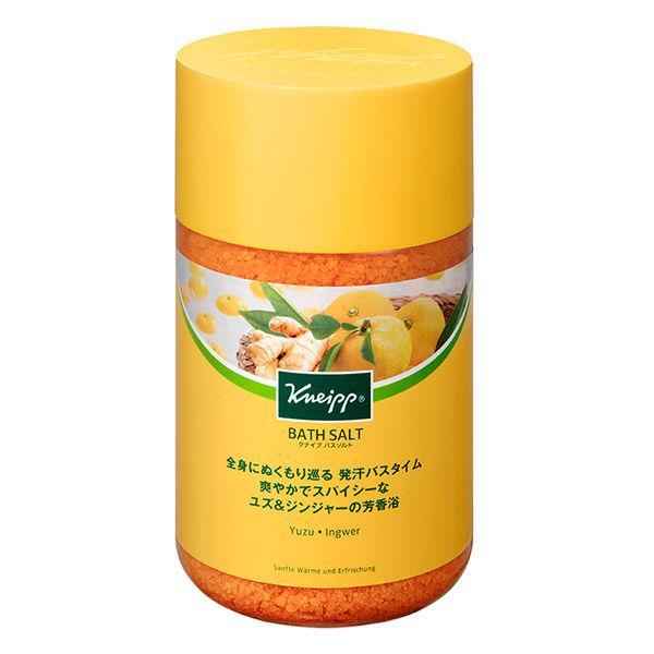 クナイプ バスソルト ユズ ジンジャーの香り 透明タイプ 公式 返品送料無料 850g クナイプジャパン
