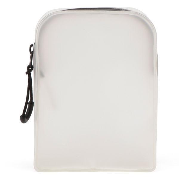 無印良品 TPU自立するポーチ 正規激安 数量限定 S 白 02547967 約12×9×4cm 良品計画
