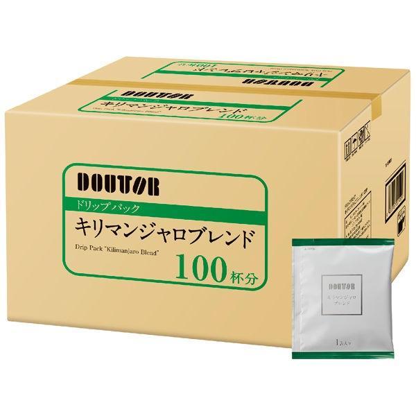 ついに入荷 アウトレット ドトール ドリップパック 1箱 100袋入 キリマンジャロブレンド 休日