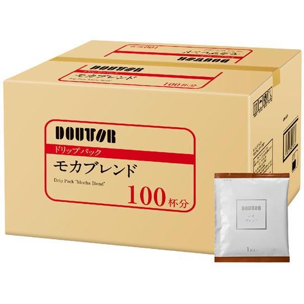 アウトレット ドトール ドリップパック モカブレンド 価格 交渉 送料無料 ブランド買うならブランドオフ 1箱 100袋入