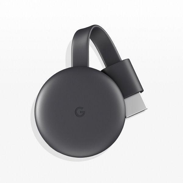 Google 入手困難 Chromecast グーグル クロームキャスト 1台 半額 チャコール GA00439-JP