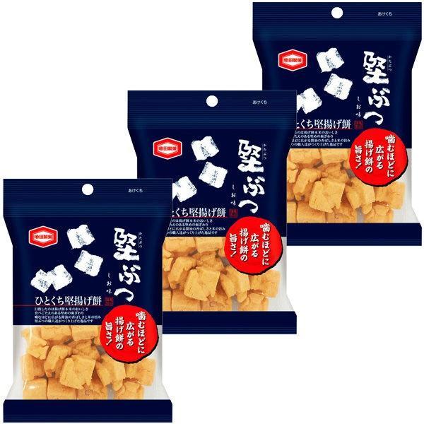 亀田製菓 堅ぶつ 48g 価格 今だけスーパーセール限定 1セット 3袋入