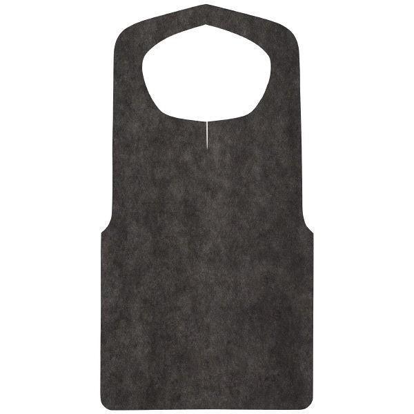 不織布エプロン 無料 黒 1袋 30枚入 セール特価