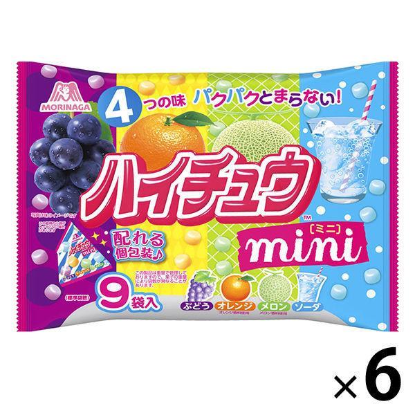 ついに再販開始 有名な 森永製菓 ハイチュウミニプチパック 6袋 1セット