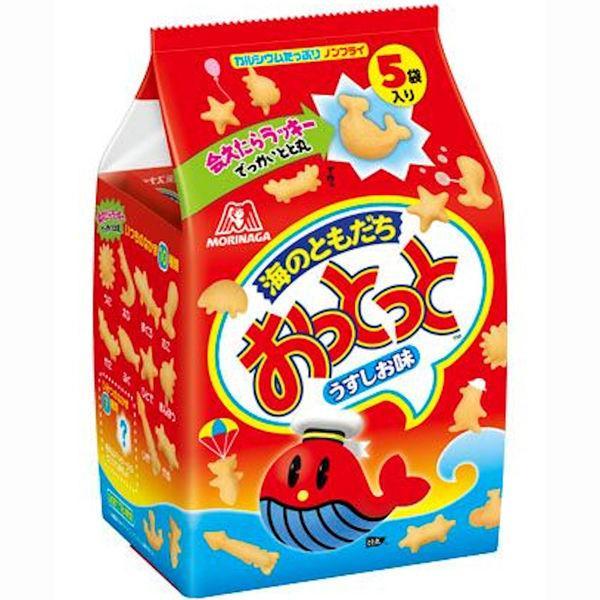 森永製菓 おっとっと 定番から日本未入荷 うすしお味 1パック 5袋入 新作送料無料 2袋 1セット