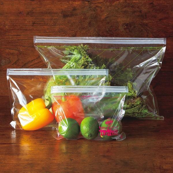 野菜の鮮度が長く持つ繰り返し使える「やさいエコバッグ」