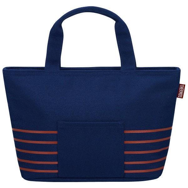サーモス THERMOS 人気 おすすめ 保冷バッグ 受注生産品 ランチバッグ 弁当袋 1個 4L NVY RDU-0043 ネイビー