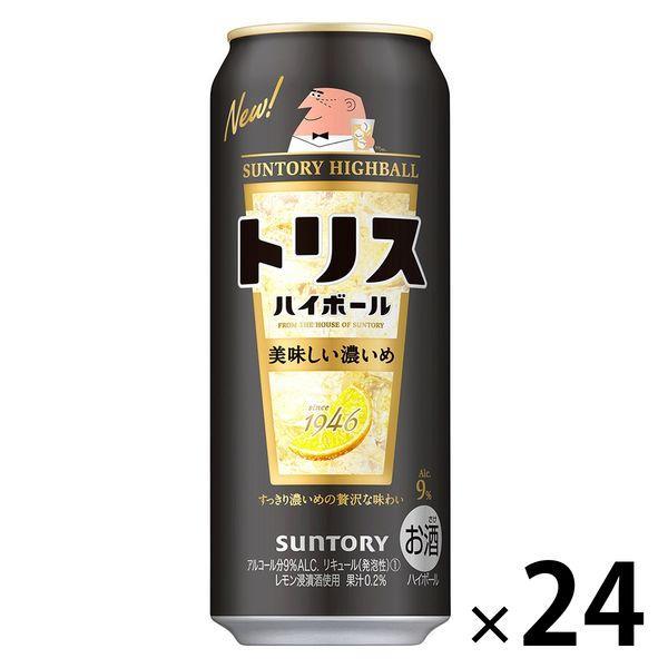 ハイボール トリスハイボール おいしい濃いめ 500ml サントリー 缶 1ケース 海外限定 24本 新着セール