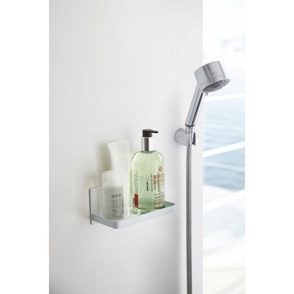 限定価格セール 海外輸入 tower タワー マグネットバスルームラック ホワイト 山崎実業 浴室壁面収納