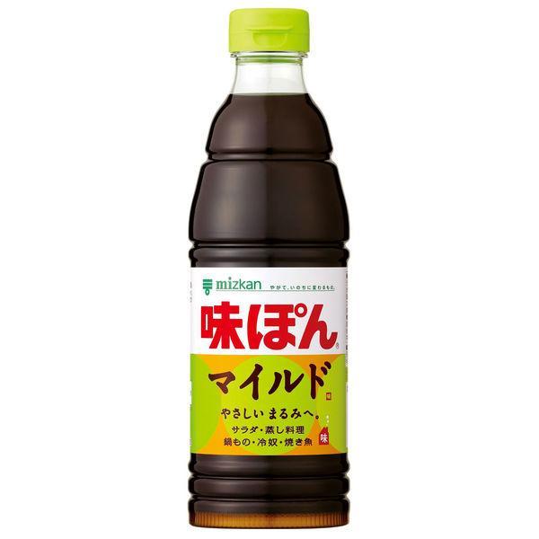 ミツカン お得 定番スタイル 味ぽんMILD 600ml 361718 1本