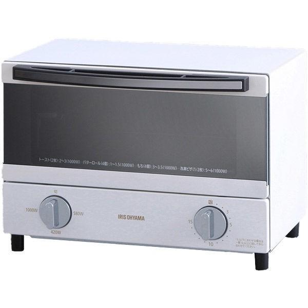 アイリスオーヤマ スチームオーブントースター SOT-011-W 蔵 火力調整3段階 2枚焼き 誕生日プレゼント
