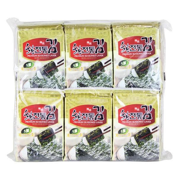 カルディコーヒーファーム〈オーバーシーズ〉 ソチョン 上等 伝統韓国のり 8枚×12p入 韓国海苔 祝日 1袋