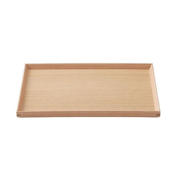 全品送料無料 無印良品 木製角型トレー 約幅35×奥行26×高さ2cm 良品計画 82577228 毎日続々入荷