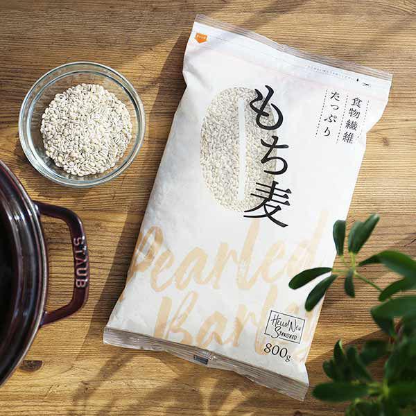 最安値 高品質新品 LOHACO限定 はくばく 食物繊維たっぷり もち麦 800g