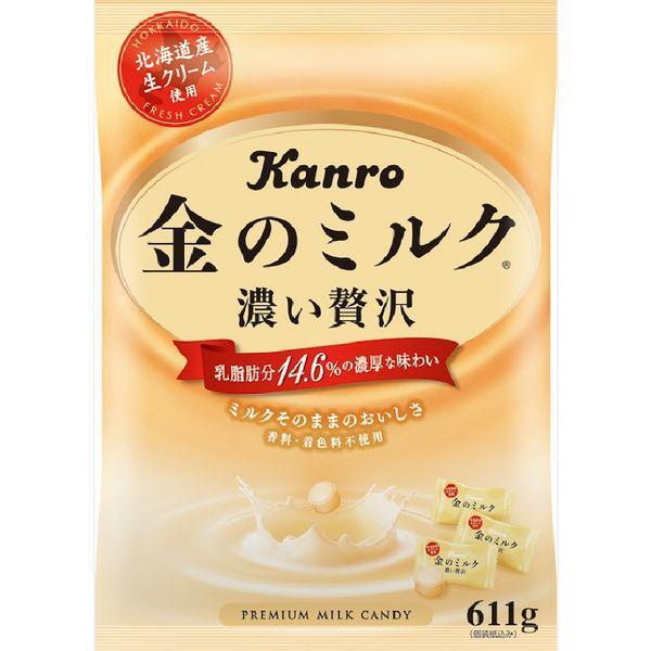 カンロ 人気 おすすめ 金のミルクキャンディ ☆正規品新品未使用品 1袋