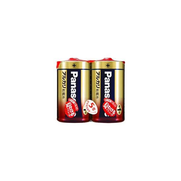 パナソニック 販売実績No.1 LR20XJ ついに再販開始 2SE 1個 アルカリ乾電池単一形2本シュリンクパック