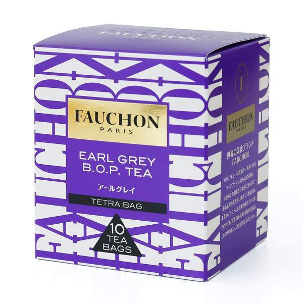 再販ご予約限定送料無料 FAUCHON フォション アールグレイ ティーバッグ 1箱 本物 10バッグ入