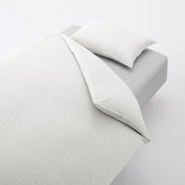 枕 カバー 無印 【無印良品】麻平織まくらカバー!リネンがおすすめ!肌触りバツグン。サイズ43×63cm用
