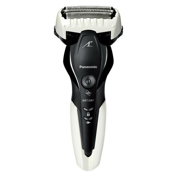 保証 パナソニック 電気シェーバー ラムダッシュ ES-ST2S-W 3枚刃 本体丸洗い 防水設計 公式サイト 白 お風呂剃り 海外対応