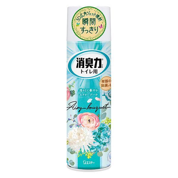 ついに再販開始 激安 トイレの消臭力スプレー 消臭芳香剤 トイレ用 330mL エアリーブーケ エステー