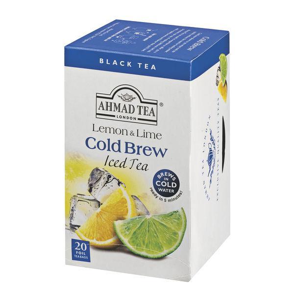 水出し 紅茶 AHMAD TEA アーマッドティー 爆売りセール開催中 流行のアイテム 1箱 レモンライム コールドブリュー ティーバッグ 20袋