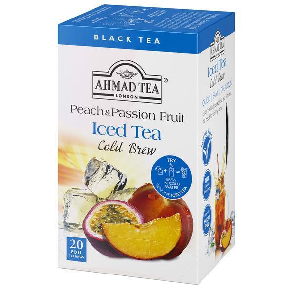 水出し 紅茶 AHMAD TEA 数量限定アウトレット最安価格 アーマッドティー 20袋 ティーバッグ 1箱 定番キャンバス コールドブリュー ピーチamp;パッション