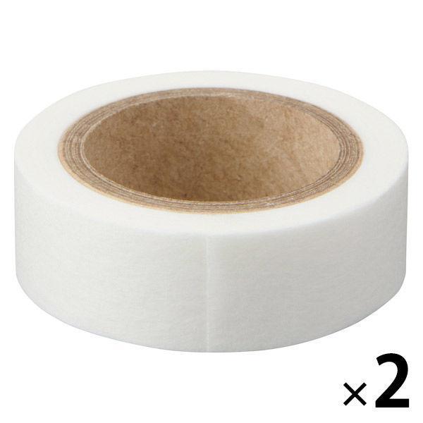 お得 無印良品 ミシン目入りマスキングテープ 白 品質検査済 幅15mm 2個 良品計画 9M巻き ピッチ10mm