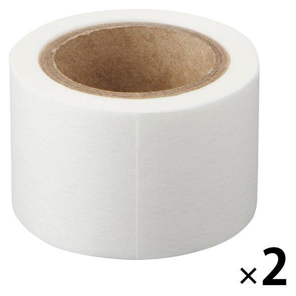 無印良品 ミシン目入りマスキングテープ 白 幅30mm 卓越 お気に入り 9M巻き 2個 良品計画 ピッチ30mm