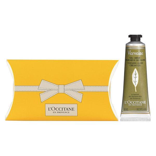 L'OCCITANE ロクシタン 卸直営 期間限定の激安セール ヴァーベナ アイスハンドクリーム ギフトBOX入り 30g