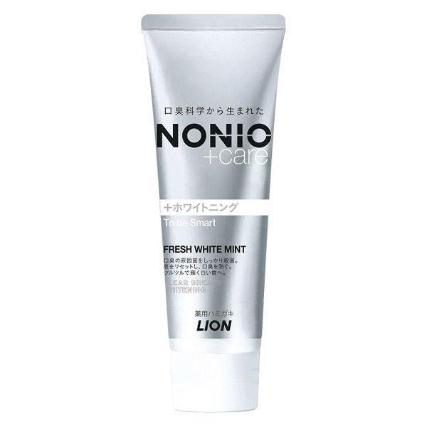 NONIO ノニオ プラスホワイトニング 毎日がバーゲンセール 引き出物 ハミガキ フレッシュホワイトミントライオン 美白ホワイトニング 歯磨き粉 フッ素 口臭予防