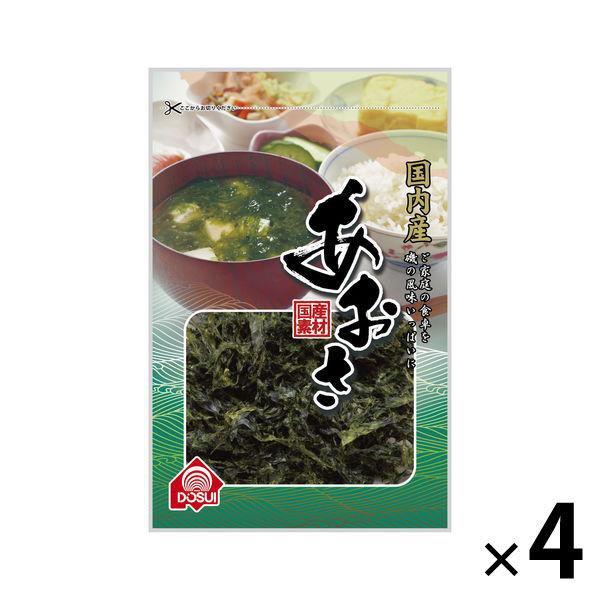 アウトレット 国内即発送 ドースイ 国内産あおさ 1セット 送料無料カード決済可能 9g×4袋