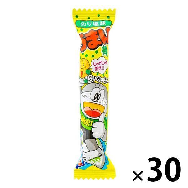 やおきん うまい棒のり塩味 30本 スナック菓子 返品不可 おトク お菓子 駄菓子