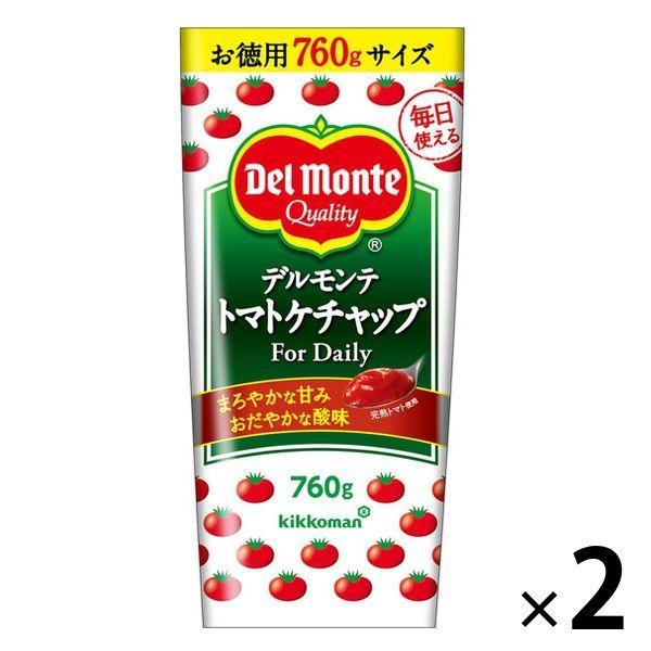 デルモンテ 正規認証品!新規格 トマトケチャップ 入荷予定 For Daily 2本