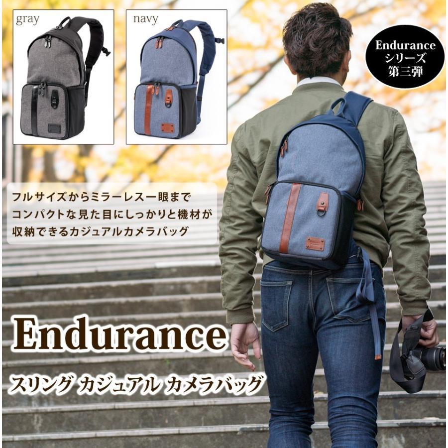 カメラバッグ スリング おしゃれ ミラーレス一眼 Endurance(エンデュランス)|y-op|03