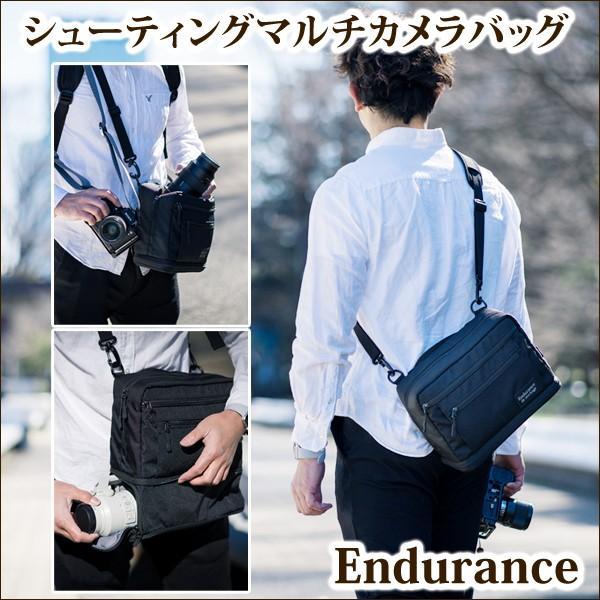 カメラバッグ ショルダーカメラバッグ 一眼レフ Endurance(エンデュランス)  シューティングマルチカメラバッグ|y-op