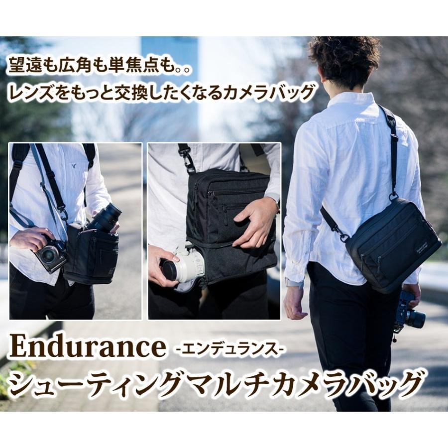 カメラバッグ ショルダーカメラバッグ 一眼レフ Endurance(エンデュランス)  シューティングマルチカメラバッグ|y-op|02