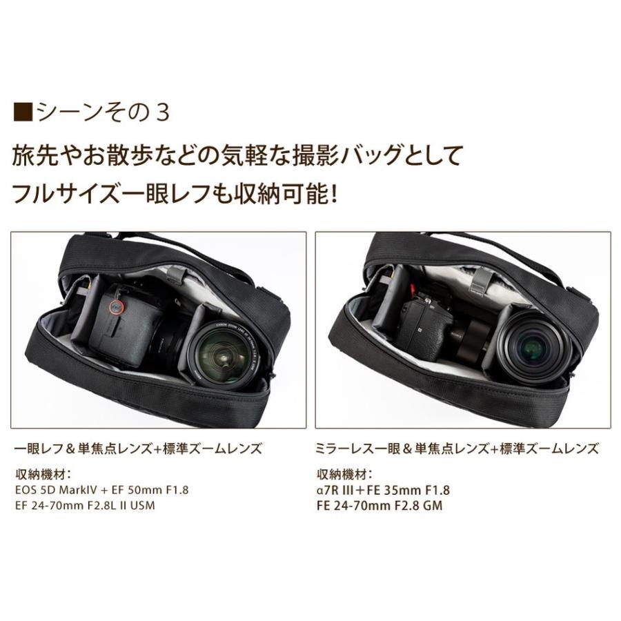カメラバッグ ショルダーカメラバッグ 一眼レフ Endurance(エンデュランス)  シューティングマルチカメラバッグ|y-op|07