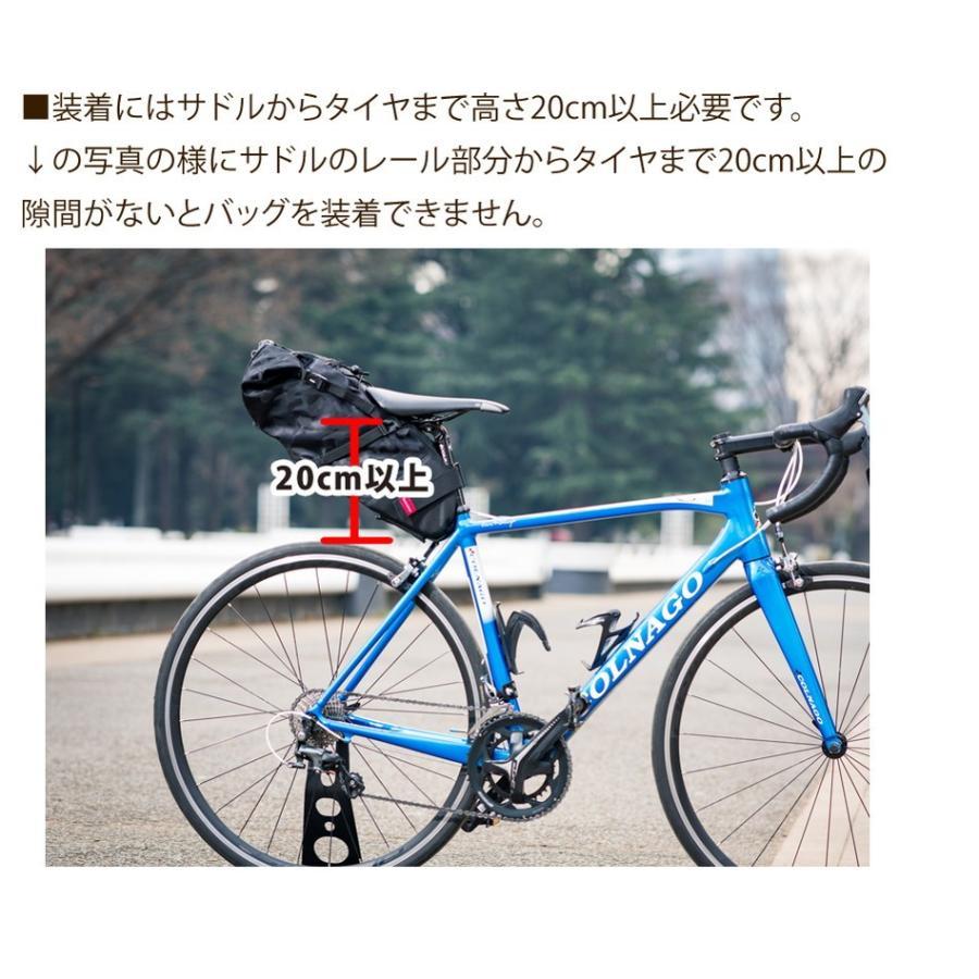Endurance(エンデュランス) リュックにもなる大容量サドルバッグ ロードバイク クロスバイク ミニベロ MTB|y-op|15