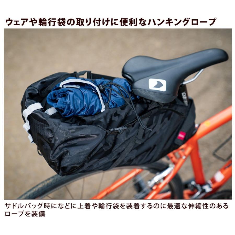 Endurance(エンデュランス) リュックにもなる大容量サドルバッグ ロードバイク クロスバイク ミニベロ MTB|y-op|21