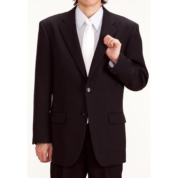 礼服レンタル0AY0001ブラックフォーマルシングル(喪服)(メンズスーツ)男性 ブラックフォーマル 喪服 y-rental 02